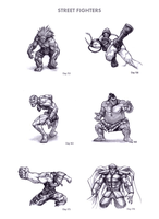 Street Fighters by WEAPONIX