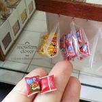 1:12 scale miniature chicken snack packets by Snowfern