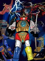 Thundermegazord by godson10