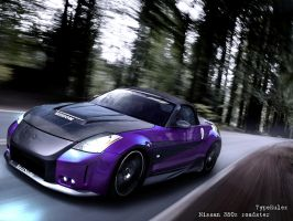 nissan 350z roadster by typerulez