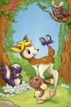 Movies With Pokemon - Bambi by KariOhki