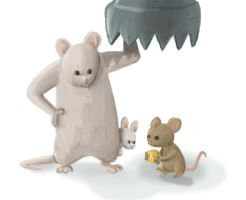 Gentle Giant Mouse by ItsJustin