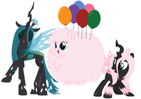Happy Birthday, Fluffle Puff! by iPandacakes