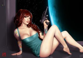 Babe of the Space Age by BAproductions