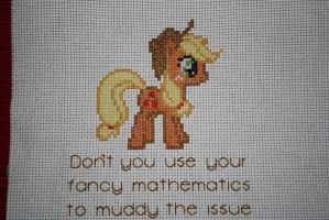 Applejack and Her Honest Quote COMPLETED by NicMarRay