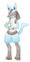 Lucario by icekitty101