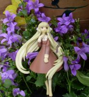 Chii and the purple blossoms 2 by Mako-chan89