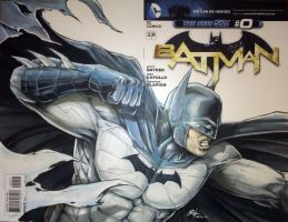 Batman blank variant by Oshouki