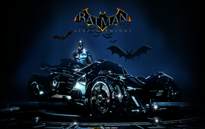 BATMAN: ARKHAM KNIGHT BATMOBILE (1) by CSuk-1T