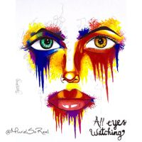 All eyes watching by officialborncreative