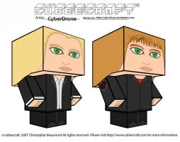 Cubeecraft - Olivia Dunham by CyberDrone