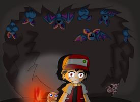 First Cave by purplemagechan