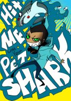 HitMeWithYourPetSharkINCOLOR by geggidy