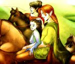 LotR_ Silm: Away From Tirion by Hedonistbyheart