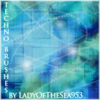Techno Brushes by LadyOfTheSea953