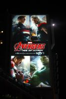 Avengers Over Yonge And Dundas #1 by Neville6000