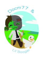 Docm77 and Lil`Booger by Aninejac