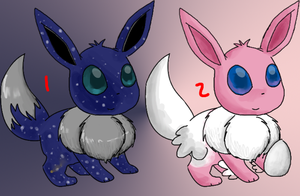 Eevee Point Adoptables by Ryanners