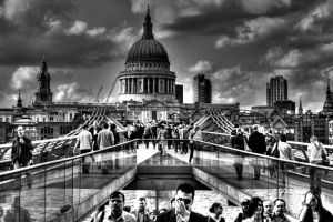 London B and W by burburia
