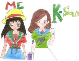 Me and K san by the-legend-of-smosh
