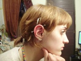 Industrial piercing by Dunjochka