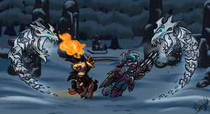 Contest Entry - The Ice Wraiths by OmbraniWolf