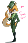 Lt. Fox Vixen by iggler