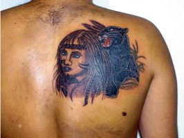 Indian Brazilian by BixoTattoo