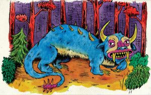 H for Hodag by oh-the-humanatee