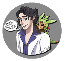 Professor Sycamore by Bane-Shadows