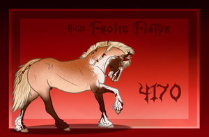 4170 BuD's Frolic Flame by GuardianOfJay