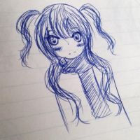Pen Doodle by Noname-chii