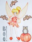 Tinkerbell Halloween by linus108Nicole