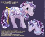 MLP Carousel Pony Blossom by Saimain