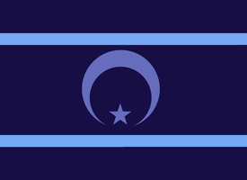 Flag of the New Lunar Republic by dalea1