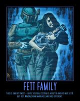 Boba Fett and Family by Onikage108