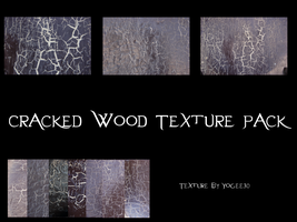 Cracked Wood Texture Pack by Yogee30