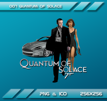 007 Quantum Solace Dock Icon by Dohc-WP