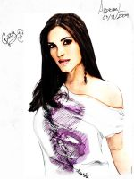 Gaby espino Color by askine