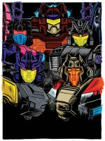 Botcon 2015 Transformers Subscription Card Art by fbwash