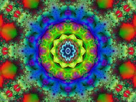 Magnificent Mandala 3 by Don64738