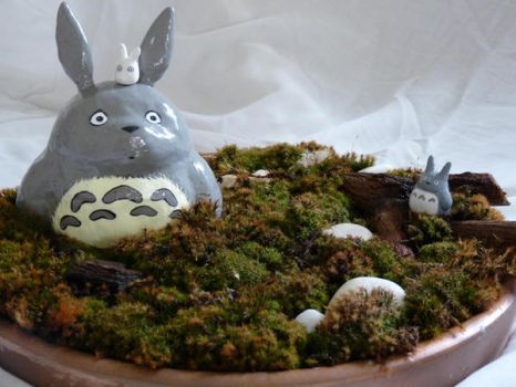 Totoro by Andy-Mii