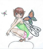 Faerie Warning, .:colored:. by SailorSun18