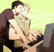 Tony/Steve: Twitter by mixed-blessing