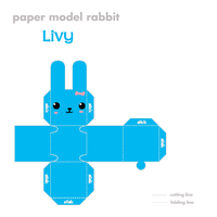 Twin Bunnies: Livy Bunny by shyviolet34