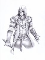 Connor Kenway - Assassin's Creed III by Feakry