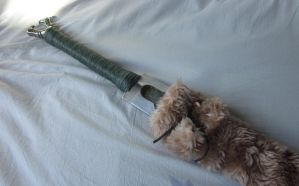 Fur scabbard by HairForge