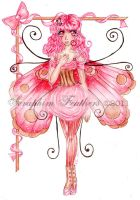 Pink Faerie by SeraphimFeathers