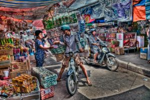 Delivery At The Market by djzontheball