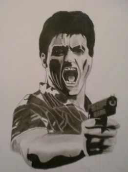 Scarface by Ottogunzalez